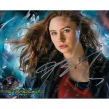 Autografo Karen Gillan Doctor Who Foto 20x25