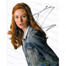 Autografo Karen Gillan Doctor Who 6 Foto 20x25