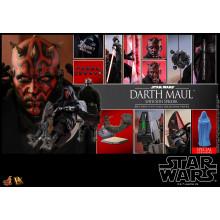 Hot Toys DX 17 Star Wars I : The Phantom Menace – Darth Maul w/ Sith Speeder special edition