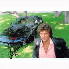 Autografo David Hasselhoff - Knight Rider Foto 20x25
