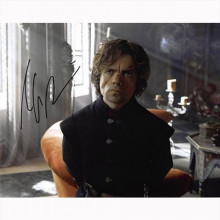 Autografo Peter Dinklage - Game of Thrones Foto 20x25
