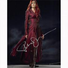 Autografo Famke Janssen - X-Men Foto 20x25