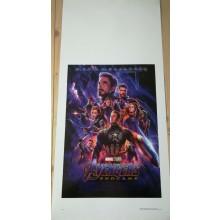 Avengers Endgame (2019) Locandina cm 33x70