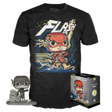 Funko Pop! & T-SHIRT DI FLASH pop e T-Shirt Set