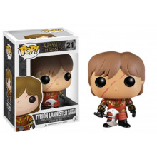 Funko Pop! Game of Thrones Tyrion Lannister with Scar in Battle Armour
