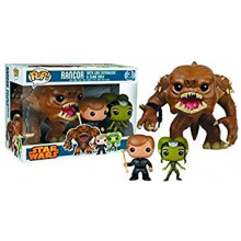 Funko Pop!  Star Wars 3Pack Rancor, Luke Skywalker, Slave Oola