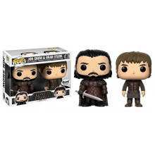 Funko Pop! Game of Thrones-Jon Snow And Bran Stark 2Pack-Limited Edition