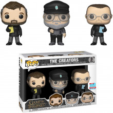 Funko Pop! Game of Thrones The Creators 3 Pack NYCC 2018 Exclusive