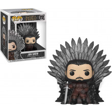 Funko Pop! Deluxe: Game of Thrones S10: Jon Snow Sitting on Iron Throne