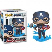 Funko Pop! Avengers Endgame: Captain America #573