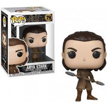 Funko Pop! Games of Thrones: Arya Stark (w/ Two-Headed Spear) #79