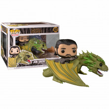 Funko Pop!  Rides Game of Thrones Jhon Snow w / Rhaegal