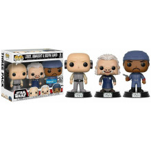 Funko Pop! Star Wars-3 Pack Lobot, Ugnaught, Bespin Guard