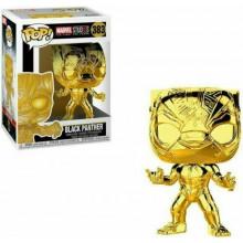 Funko Pop!  Marvel Black Panther Chrome #383