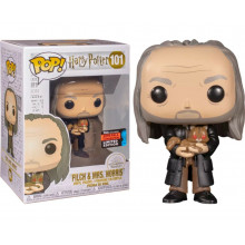 Funko Pop! Harry Potter: FILCH & MRS. NORRIS #101 2019 FALL CONVENTION