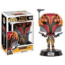 Funko Pop!  Star Wars Sabine con Casco
