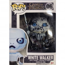 Funko Pop!  Game of Thrones White Walker autografo da Ross Mullan
