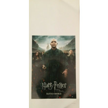 Locandina Harry Potter Tutto finisce 33x70