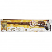 Harry Potter ALBUS DUMBLEDORE Wizard Training Wand Toy - 11 incantesimi !