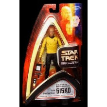 Star Trek Deep Space Nine Action Figure Bundle Sisko Uniforme serie classica