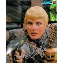 Autografo Denise Crosby 2 Star Trek Foto 20x25  ufficiale Reunion 2015