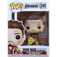 Funko Pop! Avengers Endgame # 580 IRON MAN  I Am Iron Man