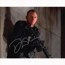 Autografo Daniel Craig - James Bond No Time to Die Foto 20x25