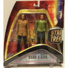 "Star Trek Original Series ""Space Seed"" Figure Khan And Kirk Diamond Select Toys"