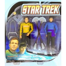 Star Trek TOS Captain Kirk & Mr Spock AMOK TIME BOX SET Diamond Select