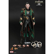 HOT TOYS 1/6 THOR THE DARK WORLD MMS231 LOKI SPECIAL EDITION LIMITED FIGURE