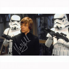 Autografo Mark Hamill - Star Wars 4 Foto 20x25