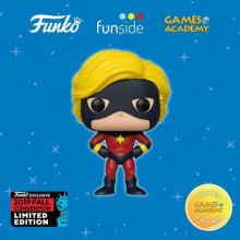 FUNKO POP! CAPTAIN MARVEL MAR-VELL #526 2019 FALL NYCC CONVENTION games accademy