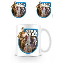 Tazza Star Wars Episodio VII (Droidi)