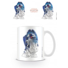 Tazza Star Wars The Last Jedi (R2-D2 Brushstroke)