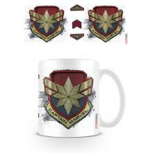 Tazza Captain Marvel (Badge)