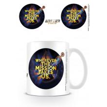 Tazza Star Trek Discovery (Mission)