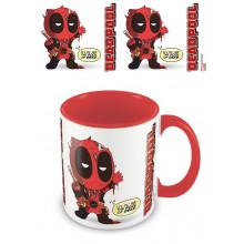 Tazza Deadpool (dal fantastico al raccapricciante) rosso