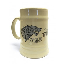 Tazza Game of Thrones (House Stark) In ceramica