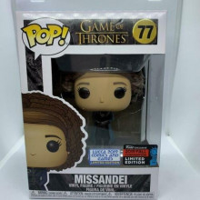FUNKO POP!  GAME OF THRONES 77 MISSANDEI 2019 FALL CONVENTION LUCCA COMICS LIM. ED