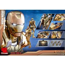 Hot Toys MMS 586 D36 Iron Man 3 – Mark XXI Midas