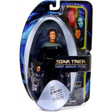 Star Trek Deep Space Nine Action Figure Bundle Chief Miles O'BRIEN Diamond Select