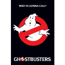 Poster Ghostbusters (Logo)