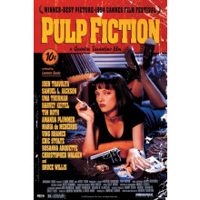 Poster Pulp Fiction (Cover)