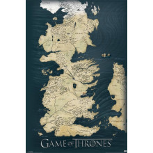 Poster Game of Thrones (Mappa)
