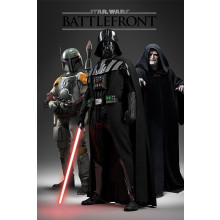 Poster Star Wars Battlefront (lato oscuro)