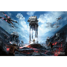 Poster Star Wars Battlefront (War Zone)