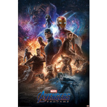 Poster Avengers: Endgame (From The Ashes)