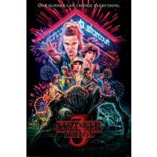 Poster Stranger Things (Summer of 85)