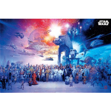 Poster Star Wars (Universo)