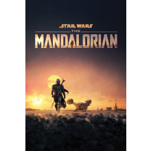 Poster Star Wars: The Mandalorian (Dusk)